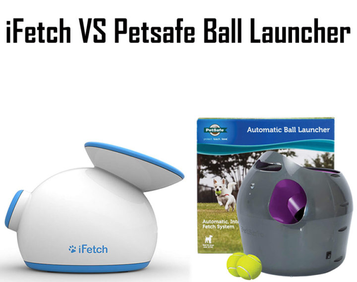 iFetch vs PetSafe Ball Launcher